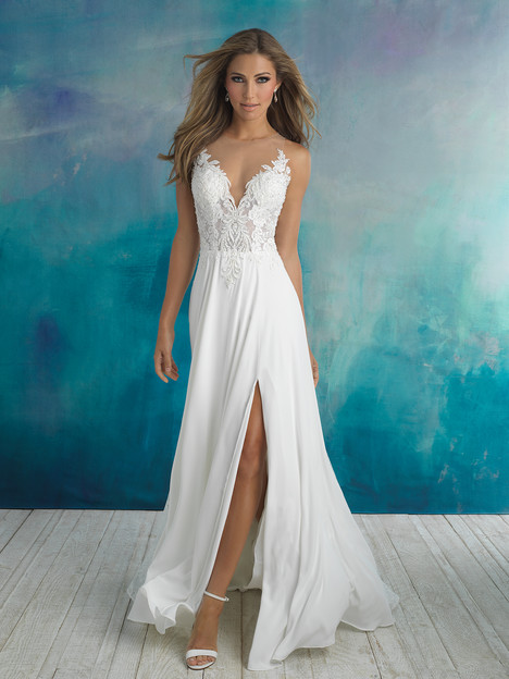9510 gown from the 2018 Allure Bridals collection, as seen on dressfinder.ca