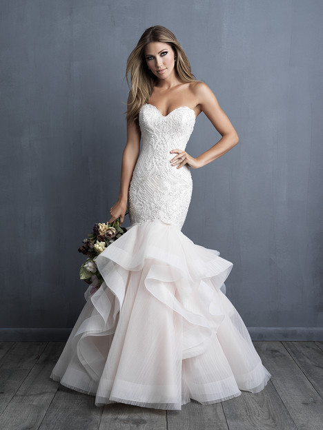 C491 gown from the 2018 Allure Couture collection, as seen on dressfinder.ca