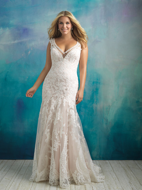 W411 gown from the 2018 Allure Women collection, as seen on dressfinder.ca