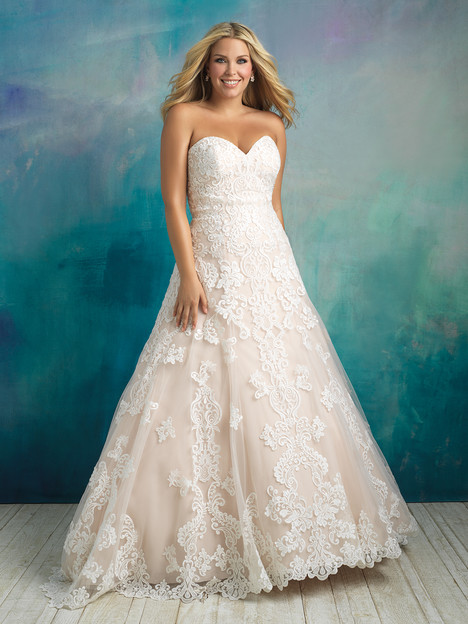 W413 gown from the 2018 Allure Bridals : Allure Women collection, as seen on dressfinder.ca