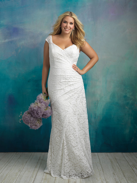 W414 gown from the 2018 Allure Women collection, as seen on dressfinder.ca