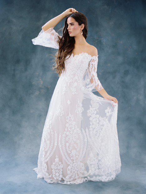 Willow (F104) gown from the 2018 Wilderly Bride collection, as seen on dressfinder.ca
