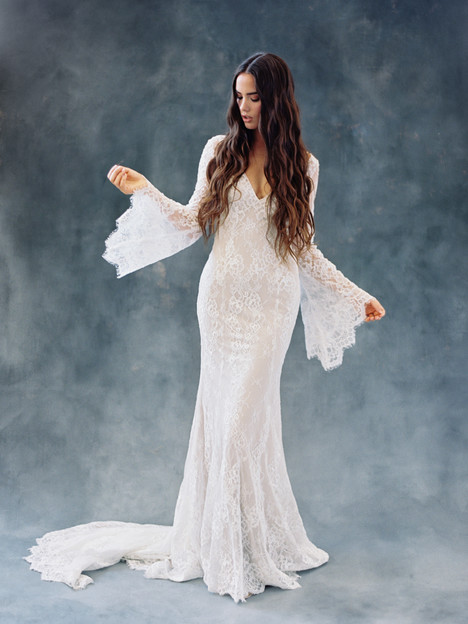 Sage (F108) gown from the 2018 Wilderly Bride collection, as seen on dressfinder.ca