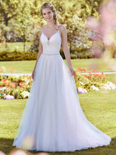 Polly (+ overskirt) gown from the 2018 Rebecca Ingram collection, as seen on dressfinder.ca