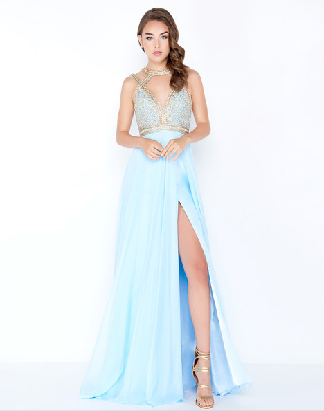 a8c82df3c6f 66445M (Ice Blue) gown from the 2018 Mac Duggal Prom collection
