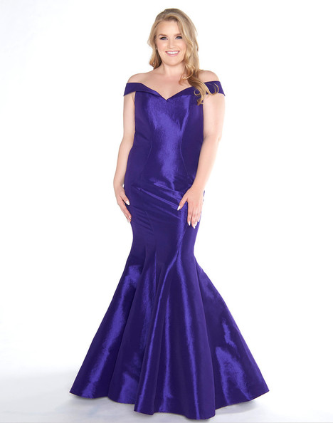 b3103a9f090 66387F (Royal Purple) gown from the 2018 Mac Duggal   Fabulouss collection