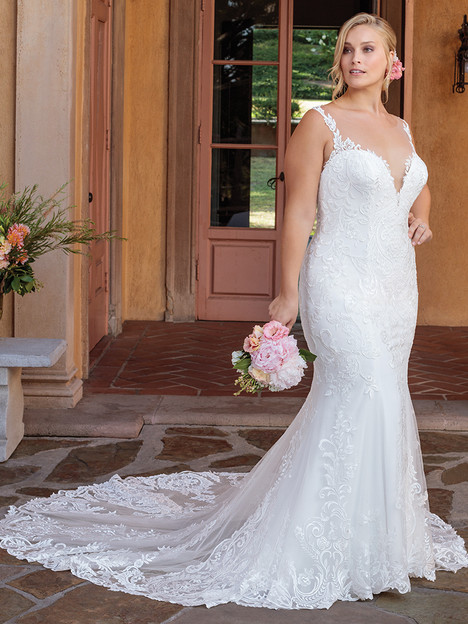 2328 (Classic Fit) gown from the 2018 Casablanca Bridal collection, as seen on dressfinder.ca