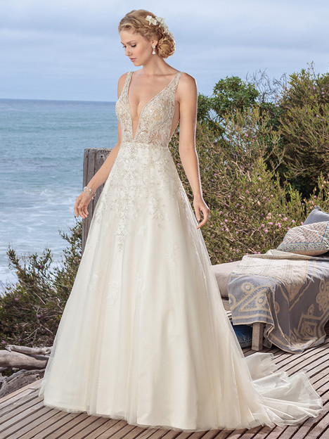 BL264 gown from the 2018 Beloved By Casablanca collection, as seen on dressfinder.ca