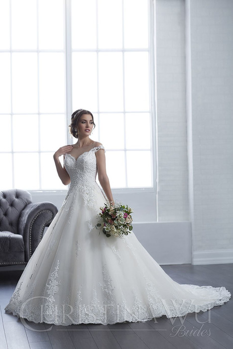 63dfc114a5 15657 gown from the 2018 Christina Wu collection