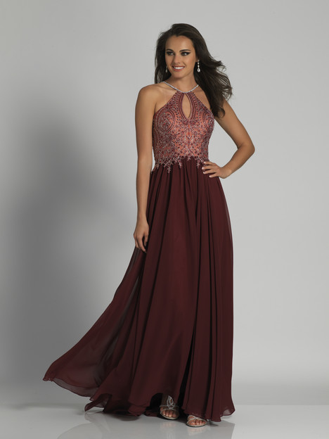 3250 (Burgundy) gown from the 2018 Dave & Johnny : Special Occasions collection, as seen on dressfinder.ca