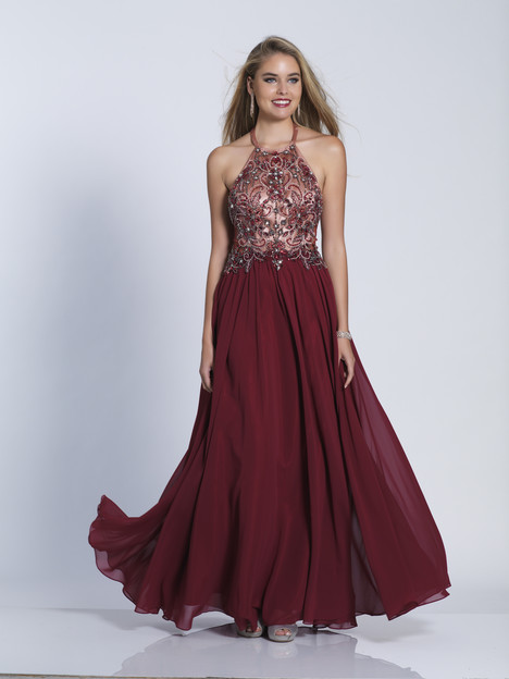 3464 gown from the 2018 Dave & Johnny : Special Occasions collection, as seen on dressfinder.ca