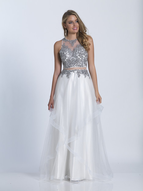 3537 gown from the 2018 Dave & Johnny Special Occasions collection, as seen on dressfinder.ca