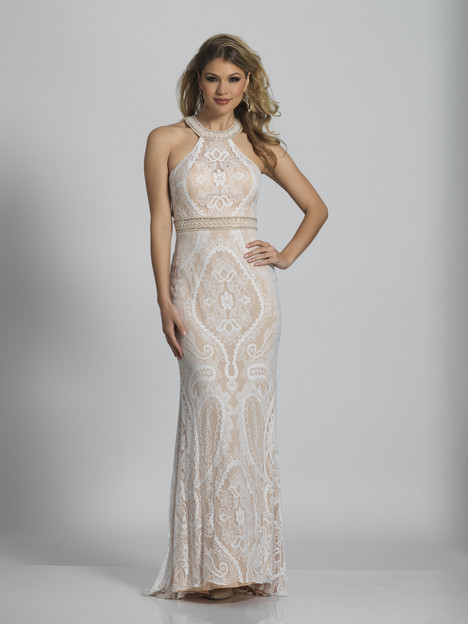 5743 gown from the 2018 Dave & Johnny : Special Occasions collection, as seen on dressfinder.ca