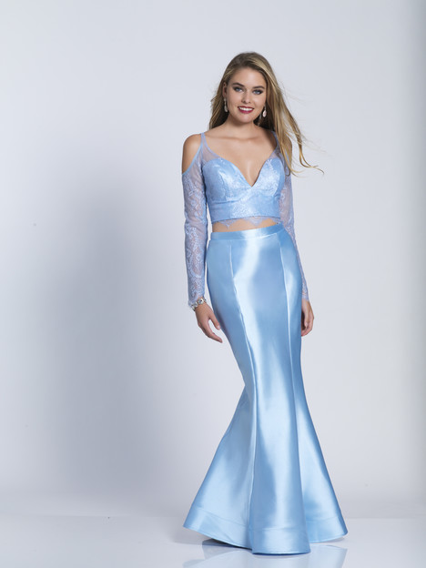 6145 gown from the 2018 Dave & Johnny : Special Occasions collection, as seen on dressfinder.ca