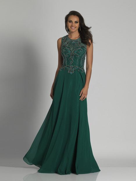 6347 (Emerald) gown from the 2018 Dave & Johnny : Special Occasions collection, as seen on dressfinder.ca