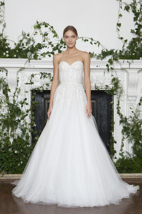 66e347b915de Princeton gown from the 2018 Monique Lhuillier collection, as seen on  dressfinder.ca