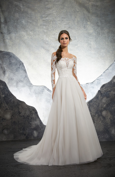 5602 gown from the 2018 Mori Lee: Blu collection, as seen on dressfinder.ca