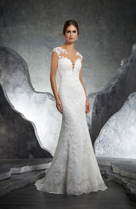 gown from the 2018 Morilee Blu collection, as seen on dressfinder.ca