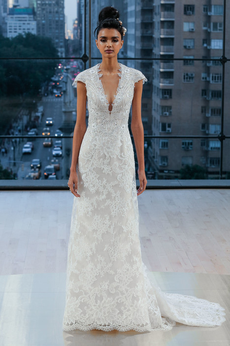 Chelsea gown from the 2018 Ines Di Santo collection, as seen on dressfinder.ca