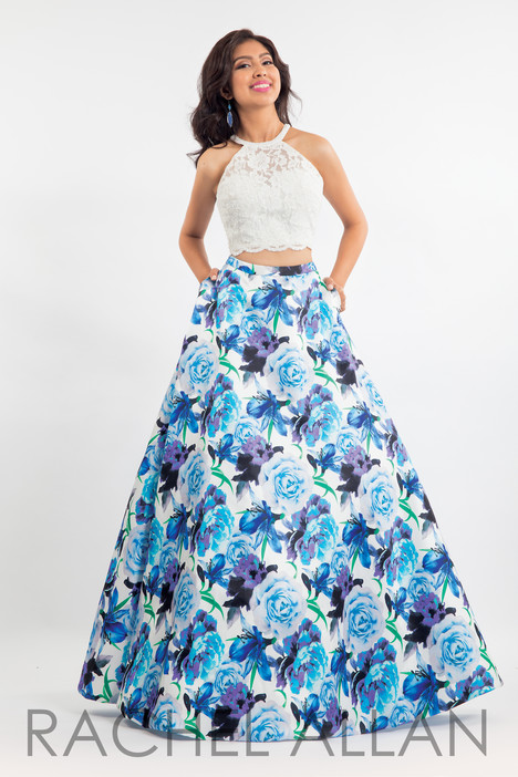 6017 (Blue) gown from the 2018 Rachel Allan collection, as seen on dressfinder.ca