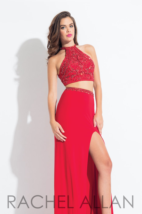 6021 (Red) gown from the 2018 Rachel Allan collection, as seen on dressfinder.ca