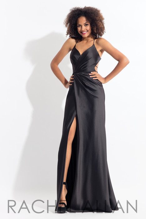 6144 (Black) gown from the 2018 Rachel Allan collection, as seen on dressfinder.ca
