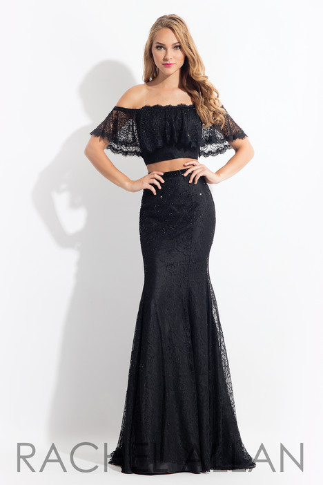 6188 (Black) gown from the 2018 Rachel Allan collection, as seen on dressfinder.ca