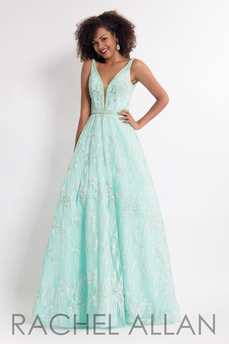 6206 (Green) gown from the 2018 Rachel Allan collection, as seen on dressfinder.ca