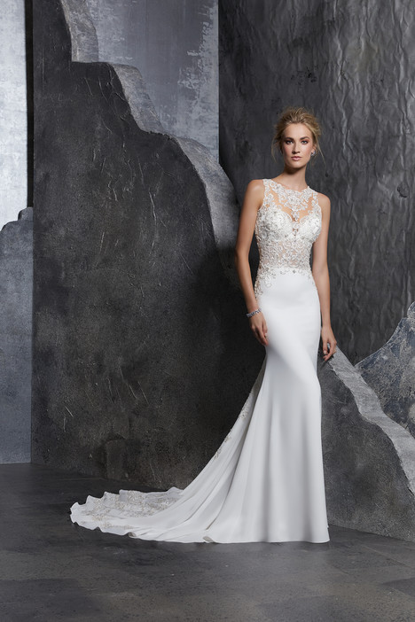 8223 gown from the 2018 Morilee Bridal collection, as seen on dressfinder.ca