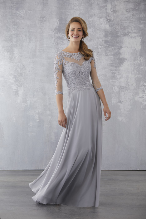 Platinum Mother of the Bride Dress
