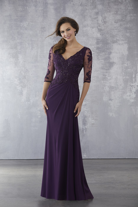 Style 71728 Eggplant Mother Of The Bride Dress By Mgny