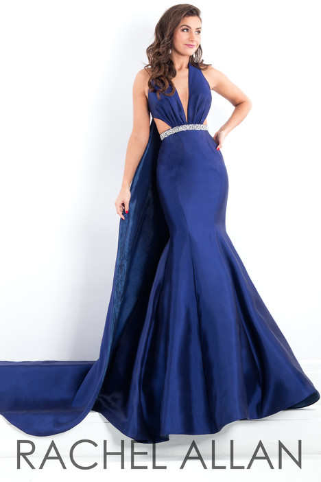 5951 (Royal) gown from the 2018 Rachel Allan : Prima Donna collection, as seen on dressfinder.ca
