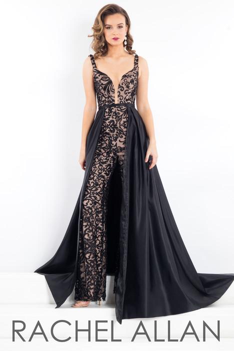 5956 Black Prom Dress By Rachel Allan Prima Donna The