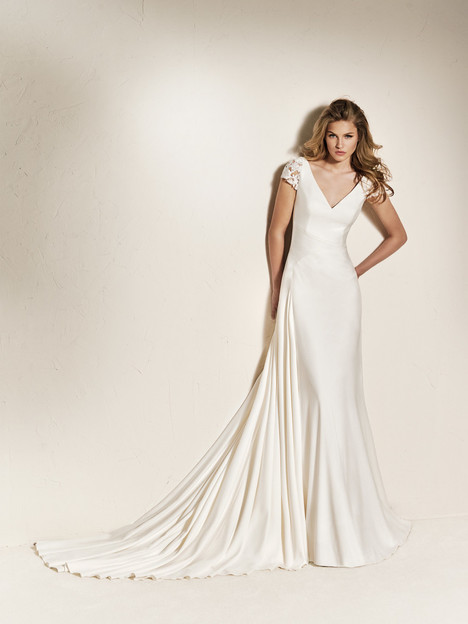 55fdae057a4 Chadia gown from the 2018 Pronovias One collection