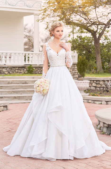 ab28199bf30e Adele (V1817) gown from the 2018 KittyChen Ivoire collection, as seen on  dressfinder