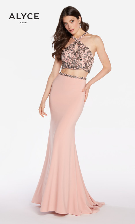 60018 (Pink Charcoal) gown from the 2018 Alyce Paris collection, as seen on dressfinder.ca