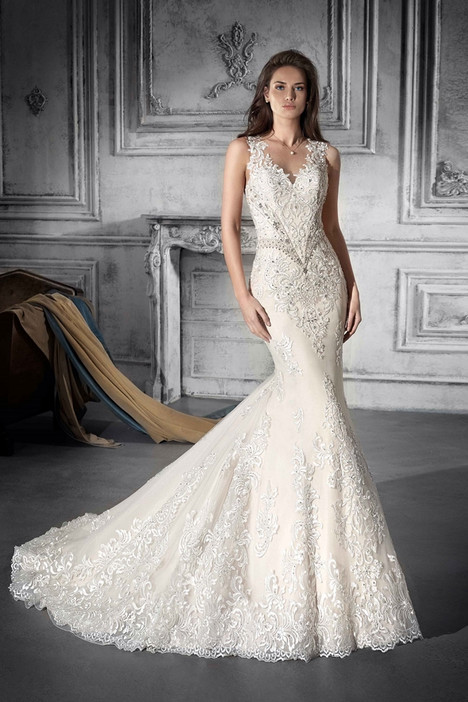 761 gown from the 2018 Demetrios Bride collection, as seen on dressfinder.ca