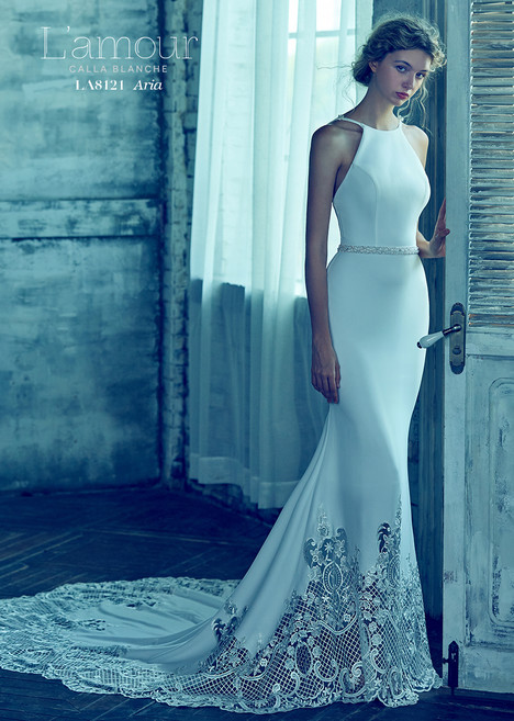 Aria (#LA8121) gown from the 2018 L'Amour by Calla Blanche collection, as seen on dressfinder.ca