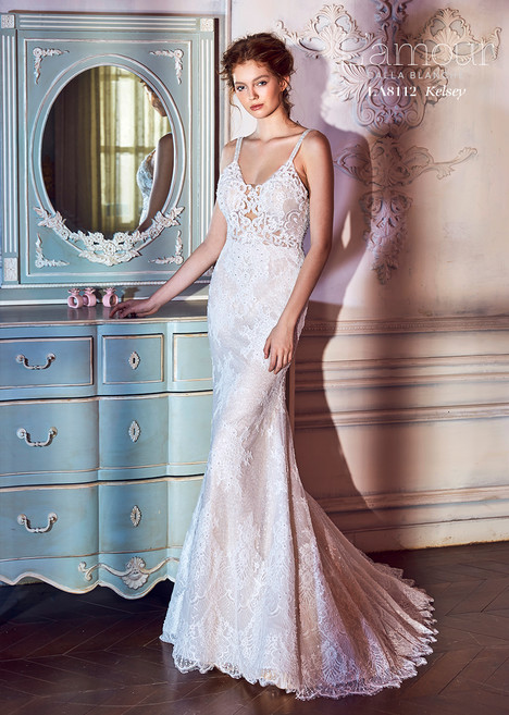 Kelsey (LA8112) gown from the 2018 L'Amour by Calla Blanche collection, as seen on dressfinder.ca