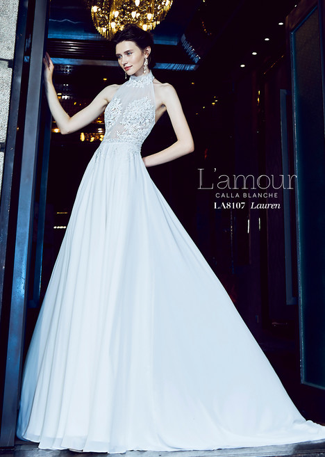 Lauren (LA8107) gown from the 2018 L'Amour by Calla Blanche collection, as seen on dressfinder.ca