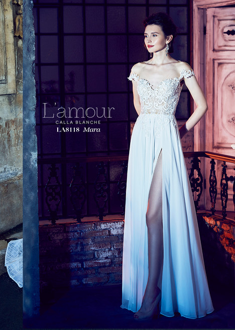 Mara (LA8118) gown from the 2018 L'Amour by Calla Blanche collection, as seen on dressfinder.ca
