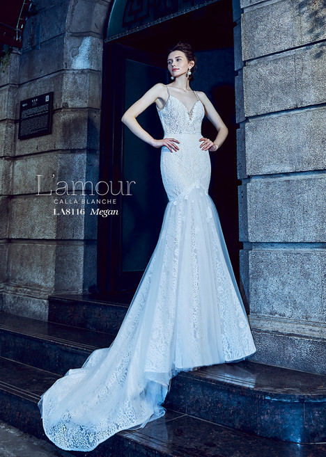 Megan (LA8116) gown from the 2018 L'Amour by Calla Blanche collection, as seen on dressfinder.ca
