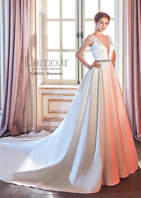Rosanna (LA8115) gown from the 2018 L'Amour by Calla Blanche collection, as seen on dressfinder.ca