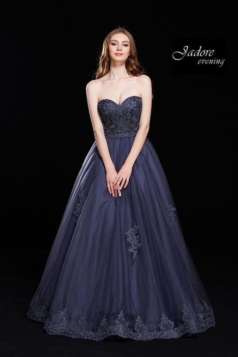 J12017 (Steel Blue) gown from the 2018 Jadore Evening collection, as seen on dressfinder.ca