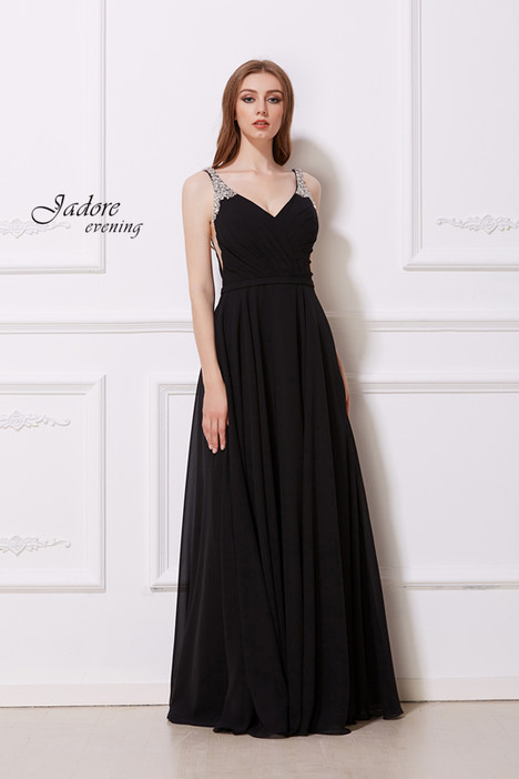 J12033 (Black) gown from the 2018 Jadore Evening collection, as seen on dressfinder.ca