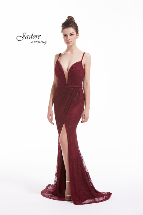 J12052 (Wine) gown from the 2018 Jadore Evening collection, as seen on dressfinder.ca