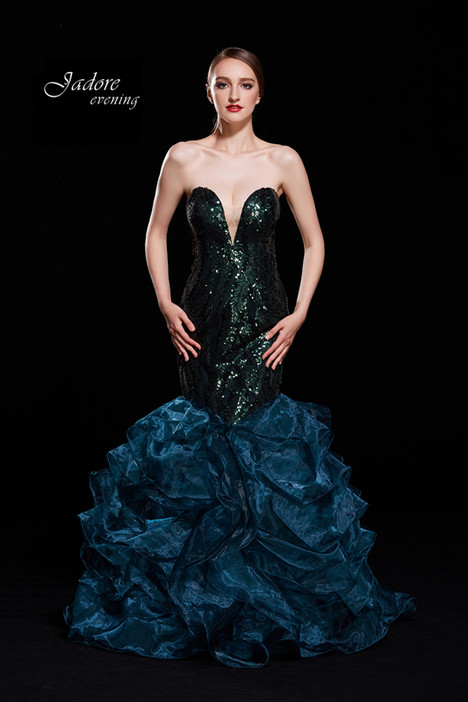 J12075 (Forest) gown from the 2018 Jadore Evening collection, as seen on dressfinder.ca