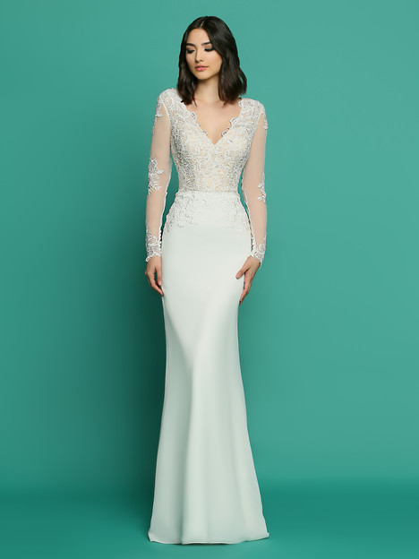 F7057AL gown from the 2018 Informal by DaVinci collection, as seen on dressfinder.ca