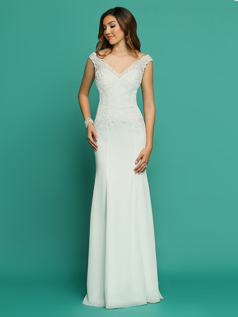 F7060AL gown from the 2018 Informal by DaVinci collection, as seen on dressfinder.ca