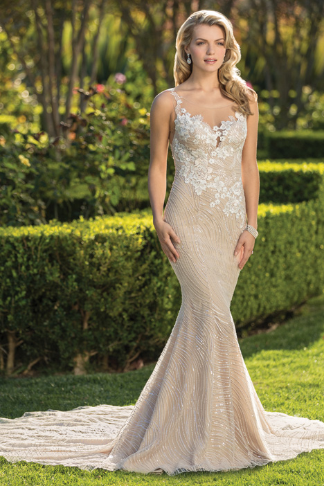 Gia gown from the 2018 Casablanca Bridal collection, as seen on dressfinder.ca